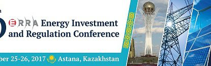 16th ERRA Energy Investment and Regulation Conference – September 25 – 26, 2017 // Astana, Kazakhstan